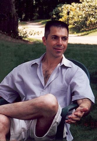 Dr. Robert Lanza in Yardchair