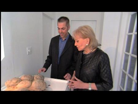 Dr. Robert Lanza and Barbara Walters